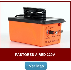 Pastores a Red 220v.