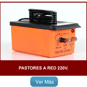 Pastor eléctrico zagal a Red