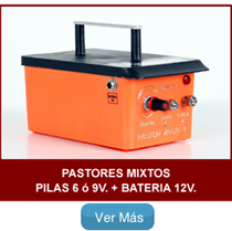 Pastores zagal mixtos Pilas y Bateria 12V
