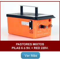 Pastores zagal mixtos Pilas y red 220V